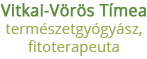 Vitkai-Vörös Tímea természetgyógyászat